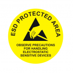 ESD-Protected-Area-–-Round-Sign