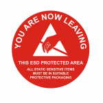 Leaving-ESD-Protected-Area-–-Round-Sign